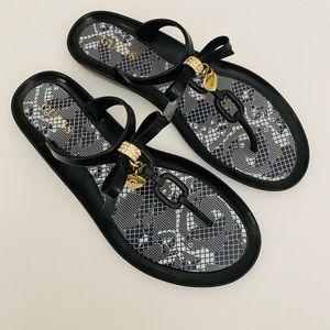 Guess Size 8 Black Sandals